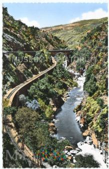 Wąwóz między Tournon a Lamastre - lata 50-te