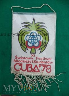 ZSMP CRZZ Festiwal Młodzieży i Studentów CUBA 78