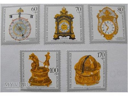 Zegary ze zbiorów muzeów niemieckich