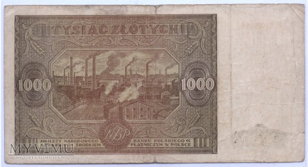 1000 złotych - 1946.