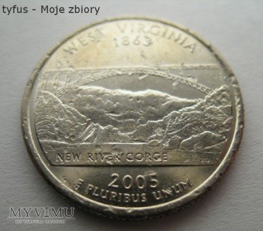 25 CENTS - Stany Zjednoczone Ameryki (USA) (2005)
