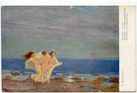 Duże zdjęcie Wachsmann - Nimfy tańczące nad brzegiem morza