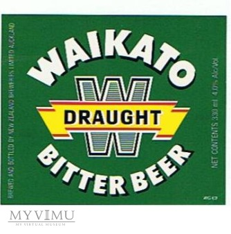 lion breweries - waikato draught bitter beer