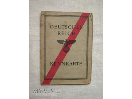 Karta rozpoznawcza - Kennkarte III Rzesza