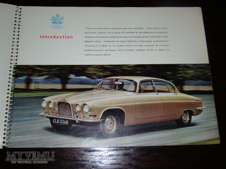Prospekt JAGUAR MARK TEN 4.2 SALOON