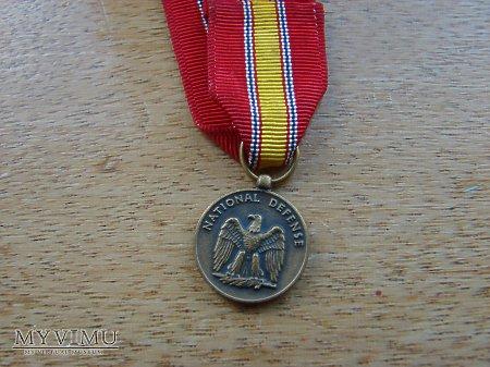Medal amerykański miniatura