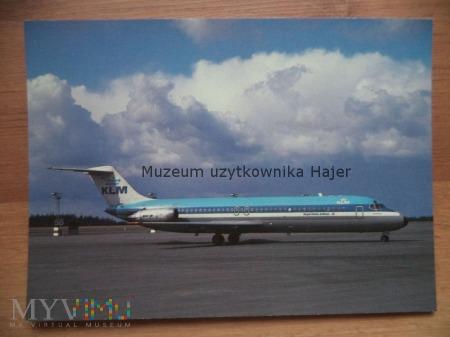 Pocztówka samolot