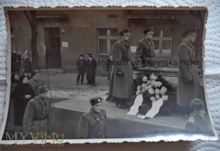 Zdjęcie pogrzeb milicjanta