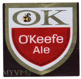 OK O'Keefe Ale