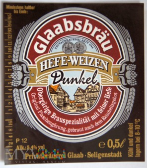 Glaabsbräu Hefe-Weizen