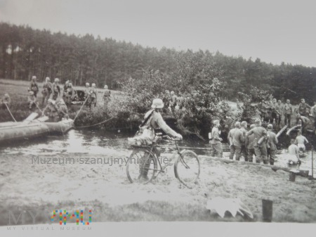 Wehrmacht przy granicy z Polską
