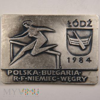 1984 - Czwórmecz Polska Bułgaria RFN Węgry