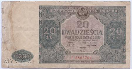 20 złotych - 1946.