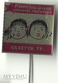 Przedszkolaki śpiewają piosenki radzieckie
