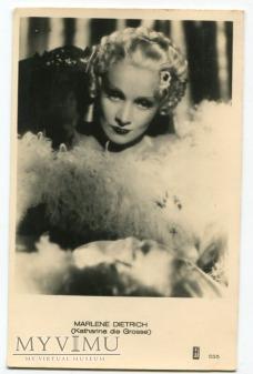 Marlene Dietrich MARLENA JOSPE Holandia nr 555