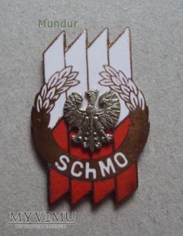 Odznaka: SZKOŁA CHORĄŻYCH MILICJI OBYWATELSKIEJ