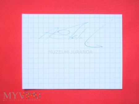 Adam Skórnicki - autograf