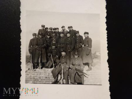 Żołnierze w Łodzi 1946r.