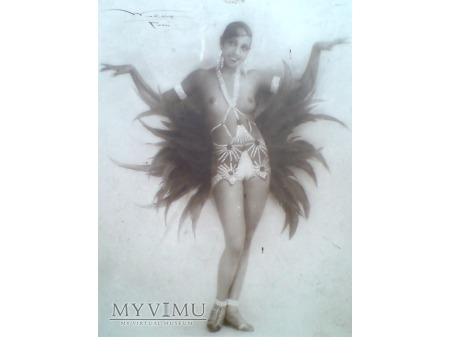 Joséphine Baker Art Deco IRIS UWAGA !! Topless ...