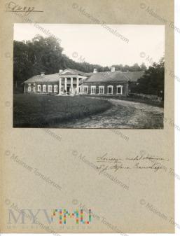Lecieszyn - dwór, własność Stefana Czarnockiego