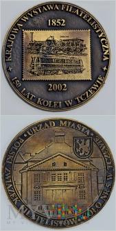 Medal 150 lat kolei w Tczewie