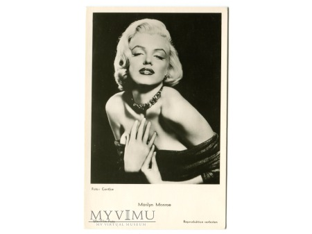 Marilyn Monroe Aktorka Film Hollywood Postcard