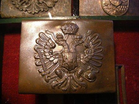 Klamra CK wz.1888 mniejszy chudszy orzeł