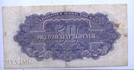 """50 złotych - 1944 (""""obowiązkowe"""")"""