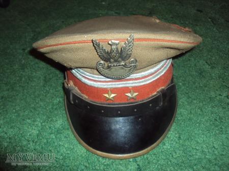Czapka garnizonowa podpułkownika (lata 50-te)