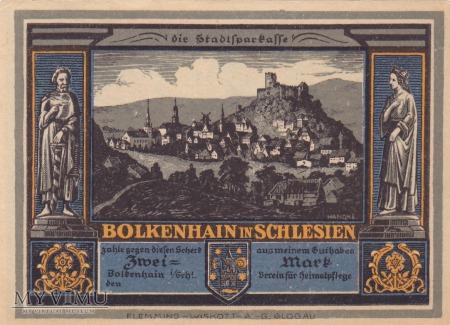 Notgeld Bolkenhain in Schlesien 2 M