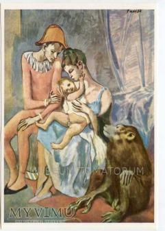 Picasso - Rodzina akrobatów