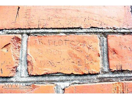 """Duże zdjęcie """"Stara Prochownia"""" - budynek A - inskrypcja #038"""