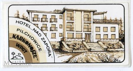 Duże zdjęcie Nalepka hotelowa - Pilchowice - Hotel Nad Zaporą
