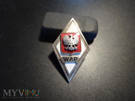 Odznaka WAP z 1961 r - Sygnowana -