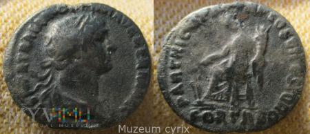 Denar Hadrian rok 117-138 n.e - moneta rzymska