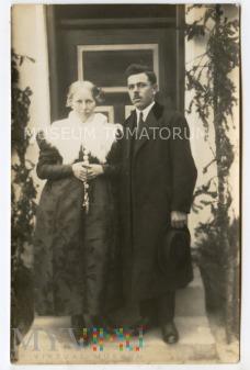 Stare zdjęcie małżeńskie