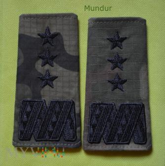 Duże zdjęcie Pochewki z oznakami stopnia wz.2010- generał broni
