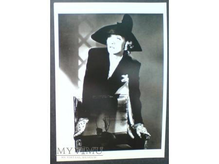 Marlene Dietrich Horst P. Horst pocztówka