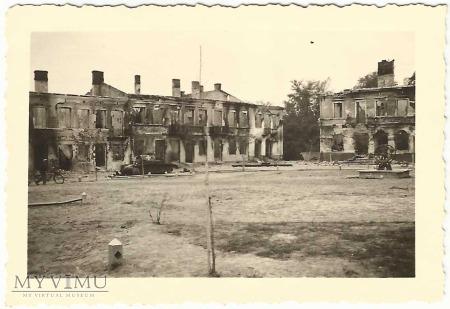 Plac Piłsudskiego - widok na południowy zachód