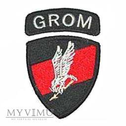 Jednostka Specjalna GROM - emblemat wyjściowy