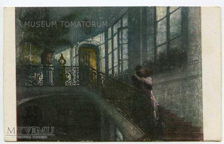 Duże zdjęcie Balestrieri - On i Ona na schodach