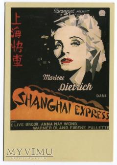 Marlene Dietrich Shanghai Express Plakat