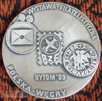 Medal Wystawy Filatelistycznej 1989