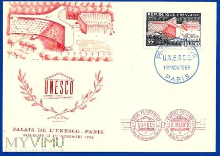 6.Postkarte-U.N.E.S.C.O.1 5.11.1958