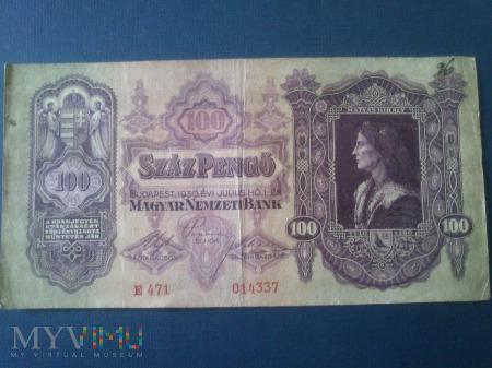 Sto Pengő - Węgry 1930 r