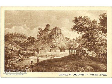 Zamek w Ojcowie w wieku XVIII