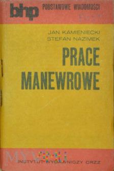 Duże zdjęcie 1974 - Podręcznik BHP - Prace manewrowe