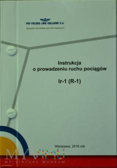 2016 - Instrukcja o prowadz. ruchu poc. Ir-1 (R-1)