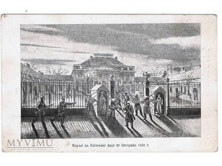 Napad na Belweder dnia 29 listopada 1830r.