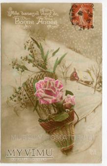 Duże zdjęcie Tysiąc całusów na Nowy Rok 1917